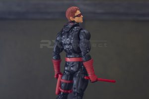 Custom Cowl and Weapon Set Black Ver.
