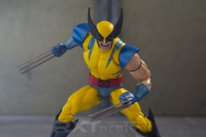 Custom Screaming Head Sculpt Mafex Wolverine