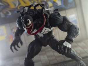 Custom Marvel Legends Monster Venom Head Sculpt