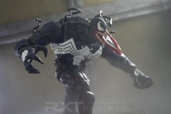 Custom Marvel Legends Monster Venom Head Sculpt