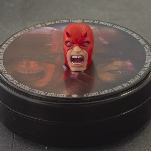 Custom Marvel Legends Daredevil Classic Screaming Head Sculpt