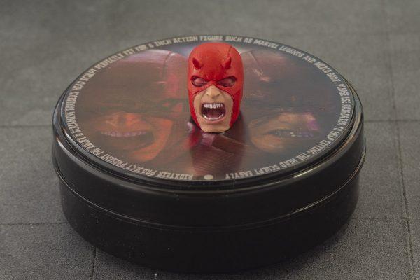 Custom Marvel Legends Daredevil Classic Screaming Head Sculpt