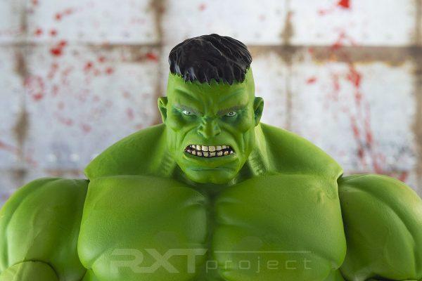 Custom Head Sculpt Immortal Hulk Marvel Select