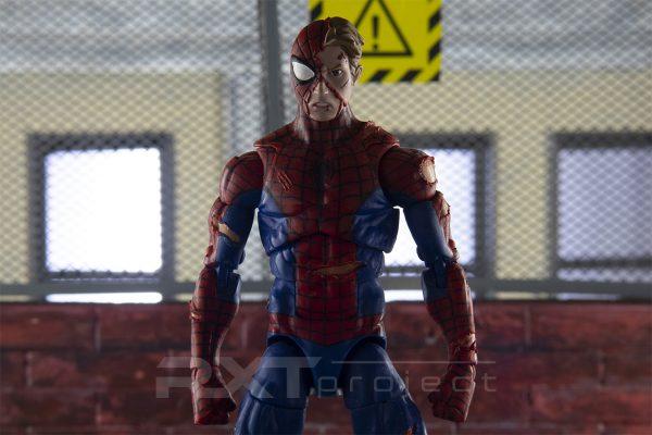 Custom Head Sculpt Battle Damage Peter Parker