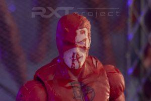 Custom Head Sculpt Bleeding Daredevil